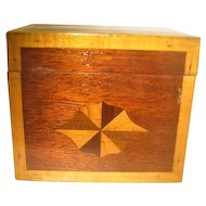 Marquetry Wooden Inlaid Box