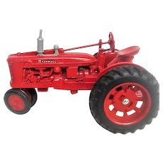 Red Farmall Die Cast Tractor Toy