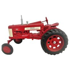 Red Farmall 350 Die Cast Tractor Toy