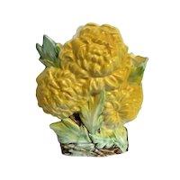 Yellow McCoy Chrysanthemum Vase