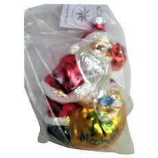 Christopher Radko Glass Santa Christmas Ornament Bloomingdales