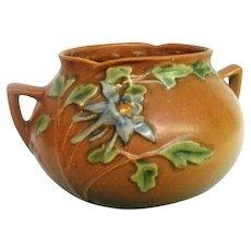 Roseville Columbine Two Handled Vase
