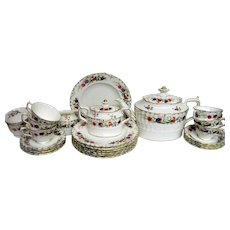 Royal Crown Derby Chatsworth  Floral Tea Set
