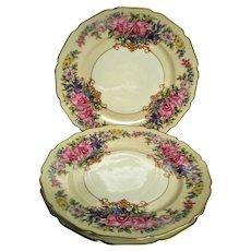 Three Rosenthal Gwendolyn Orchid Plates