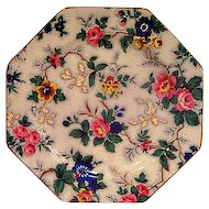 Crown Ducal Floral Chintz Octagonal Plate