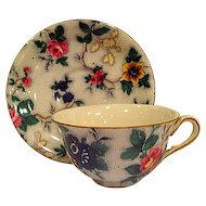 Crown Ducal Chintz Cup and Saucer