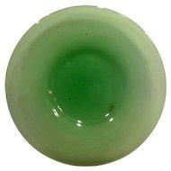 Steuben Jade Green Dessert Plate