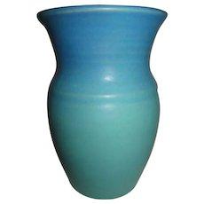 Van Briggle Blue Green Signed Vase