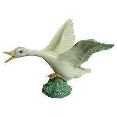 Lladro Flying Duck Porcelain Figurine