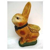 Hand Painted Walnut Ridge Easter Bunny  Figure
