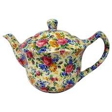 Vintage James Kent Rosalynde Chintz Teapot