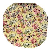 Vintage Lord Nelson  Heather Chintz Dinner Plate
