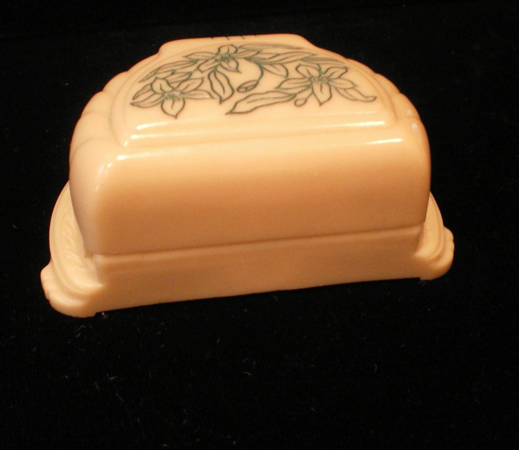 Vintage Orange Blossom Ring Jewelers Presentation Box