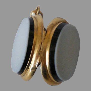 Antique Locket Fob Solid 14K  Gold