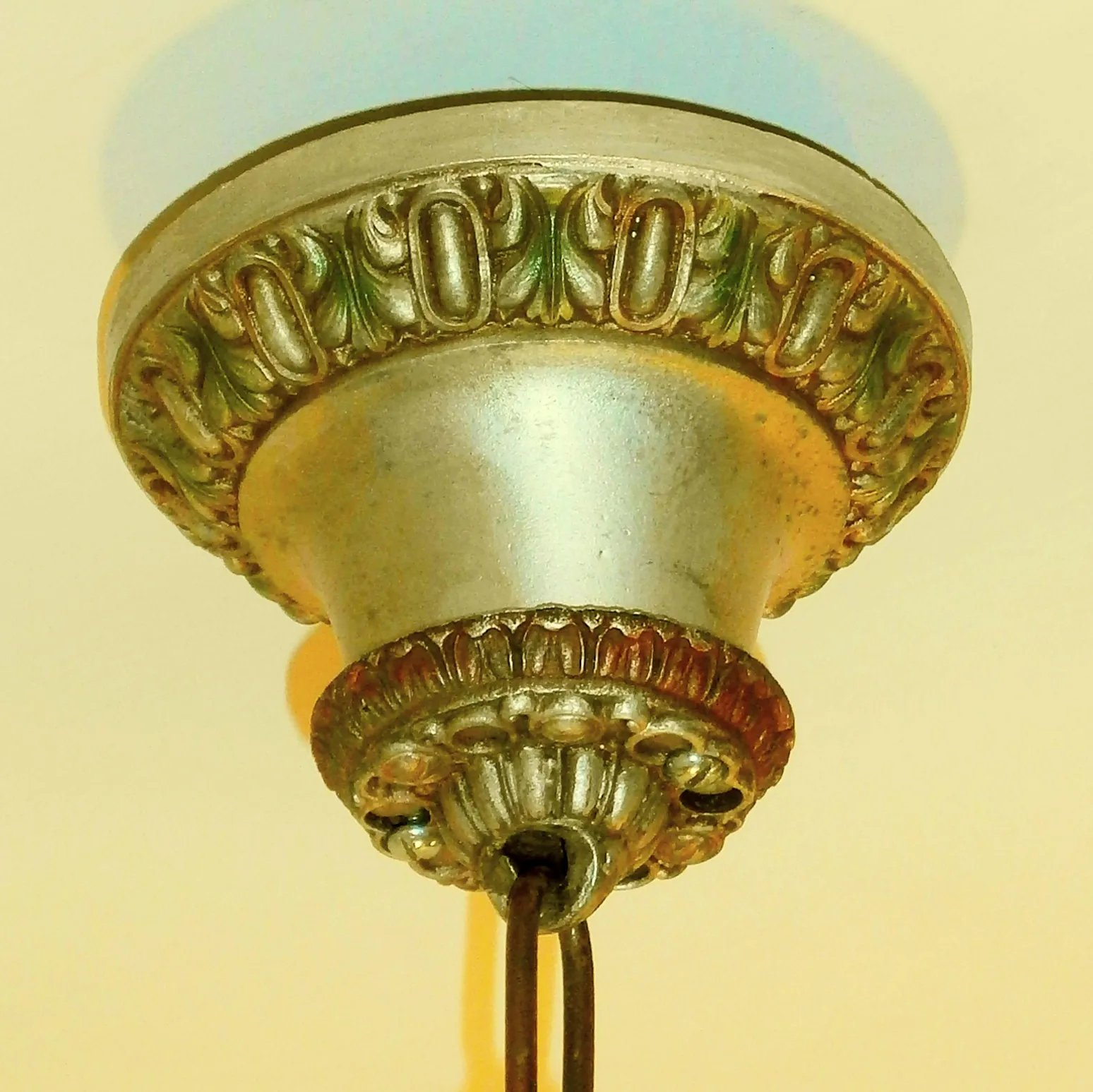 Light Fixtures Toledo Ohio: Riddle Silvery Polychrome 5-Light Revival Chandelier Light