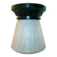 Vintage Virden Porch Light Flush Mount