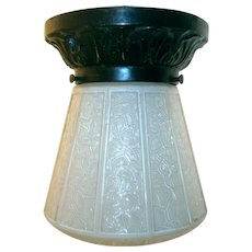 Vintage Virden Porch Light Flush Mount