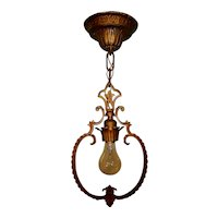 J C Virden Churchill Series Tudor Style Hall Light