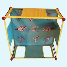 J. Chein Doll Tin Play Pen