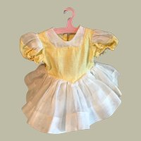 Terri Lee Doll Dress, tagged, nice condition