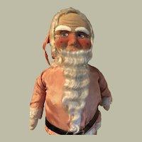 "Santa, mask face, antique, large 26"""