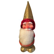 Vintage Santa Bobble Head Candy Container, Western Germany