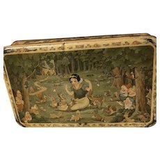 Snow White Biscuit Tin