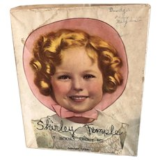Shirley Temple Book Set, 5 Books About Me, In Original Box, Saalfield