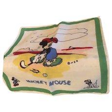 Walt Disney Mickey Mouse early Hankie WDP