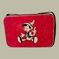 Disney 1940's Tin Lunch Box WDP