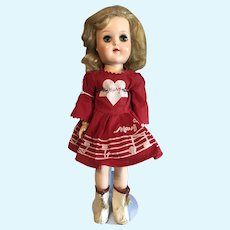 Ideal Co. Mary Hartline, red version, Pretty Face