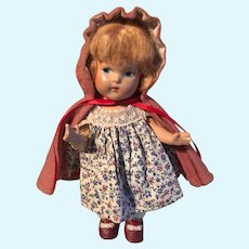 Toddles, Ginny, Composition, Little RedRidingHood, all original, VG
