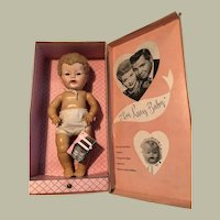 I Love Lucy Baby Doll , original box, original hang tag, 1952, Very Hard to Find
