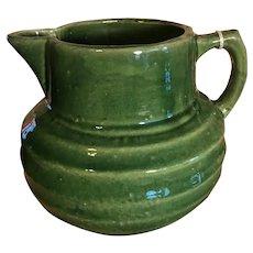 McCoy Pottery Green Pitcher