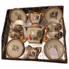 Toys,Glassware, Tea Set, Little Orphan Annie