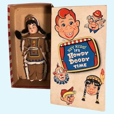 Dolls, TV Character, Princess Summer Fall Winter Spring in original box, Howdy Doody Show