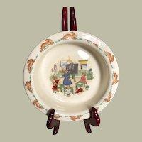 BunnyKins Rimmed Bowl Royal Doulton