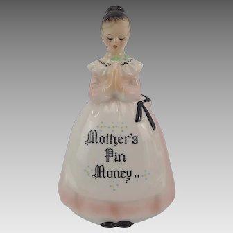 Hard To Find Kitchen Prayer Mother's Pin Money Enesco Bank