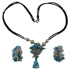 Rousselet Necklace and Earring Set