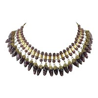 Early Miriam Haskell Collar