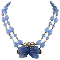 Jewels by Julio Bead and Rhinestone Necklace