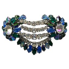 Early Christian Dior Large Rhinestone Brooch