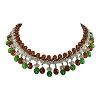 Crystal Bead Collar