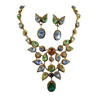 Necklace and Earrings by Mitchel Maer for Christian Dior