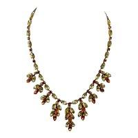 Dior Rhinestone Necklace