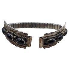 Pair of Women's Ella Cowboy Sterling Silver Watch Tips / Watchband
