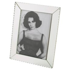 Vintage 1940s Mirror Picture Photo Frame