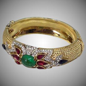 TRIFARI Jewels India front decorated bracelet cuff
