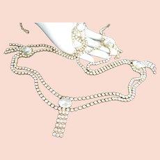 Swanky Glittering Crystal Rhinestones Vintage Belt