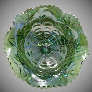 Imperial Glass Emerald Green Compote Dish ~ Over 1/2 OFF!